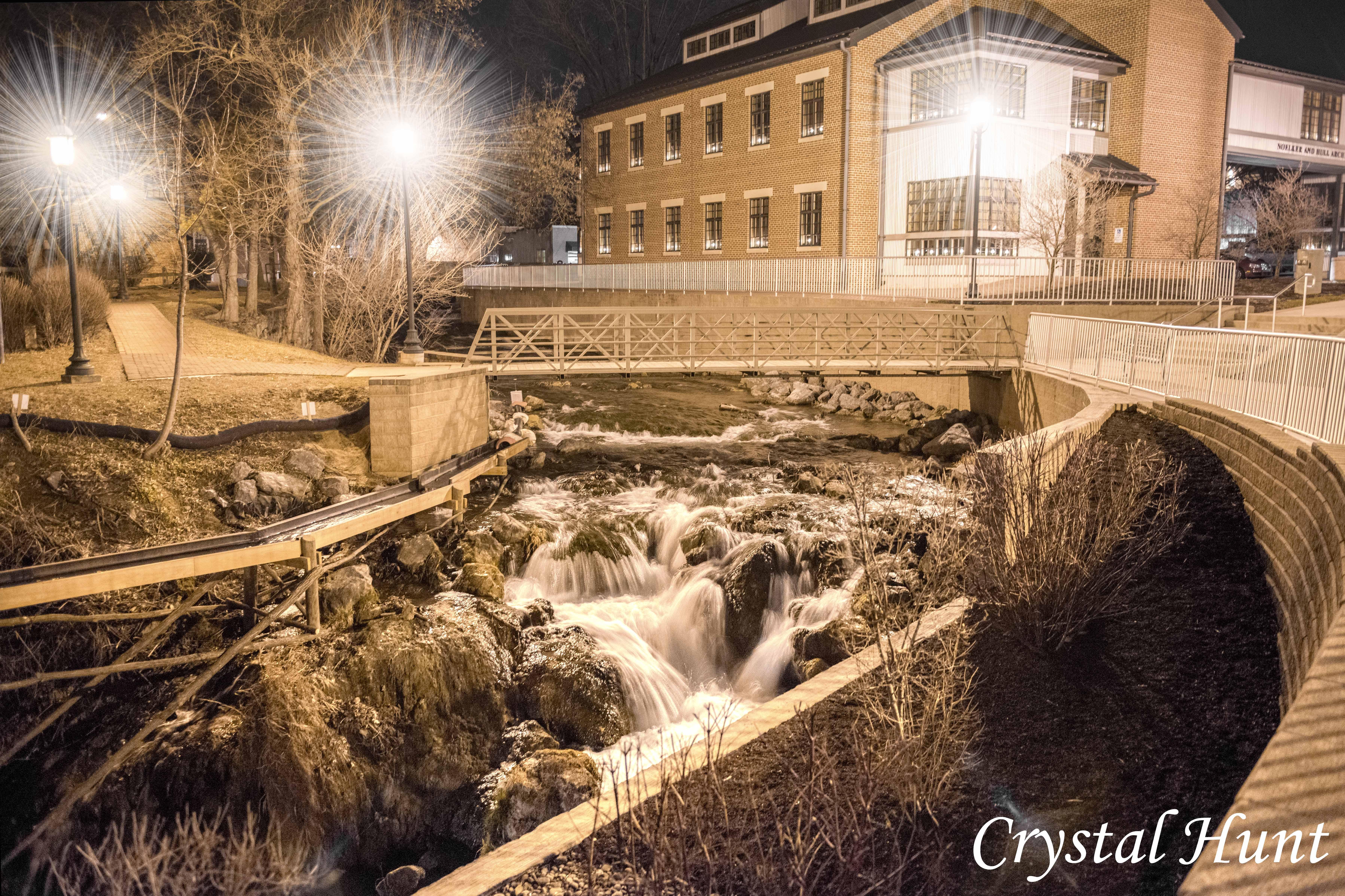 Falling Spring Waterfall