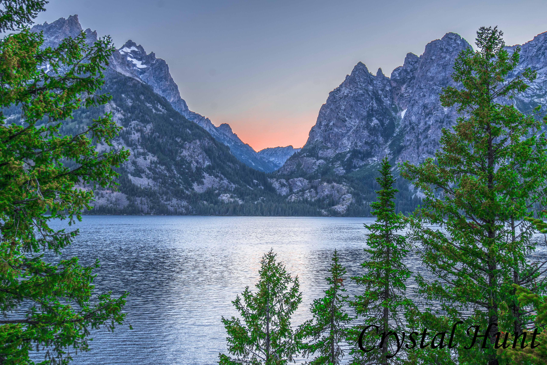 Jenny Lake Sunset