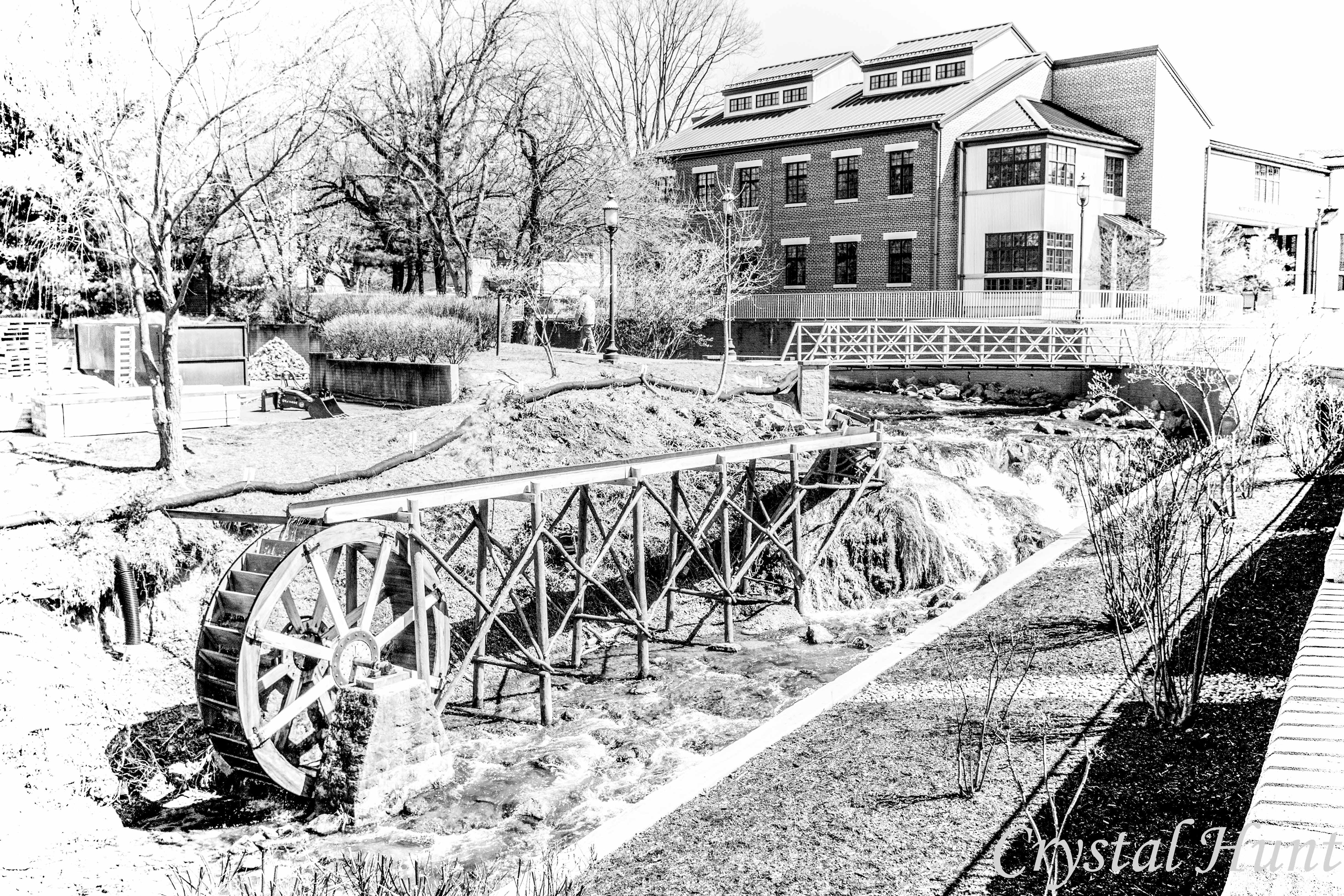 Falling Spring Waterwheel