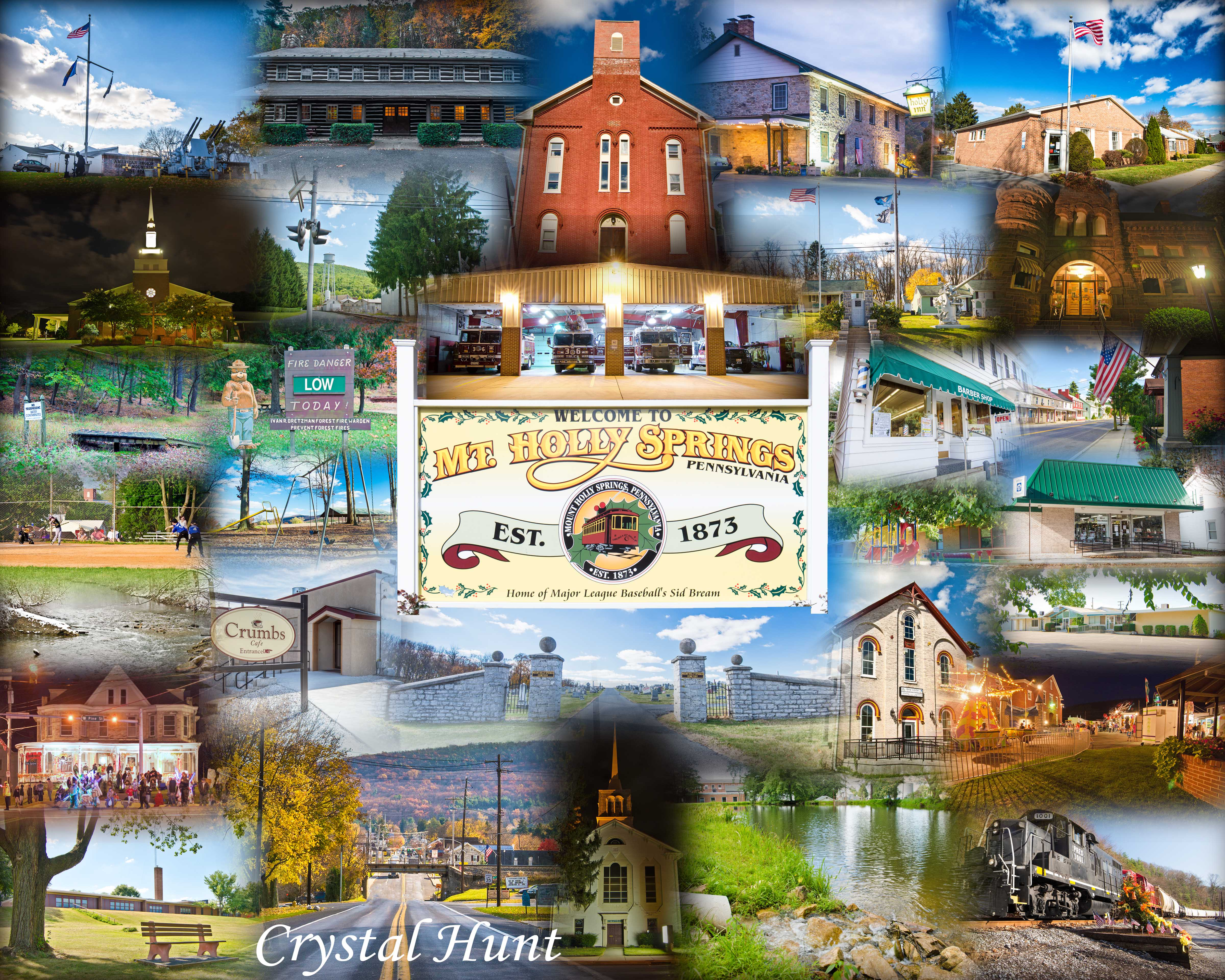 Mt. Holly Springs Montage