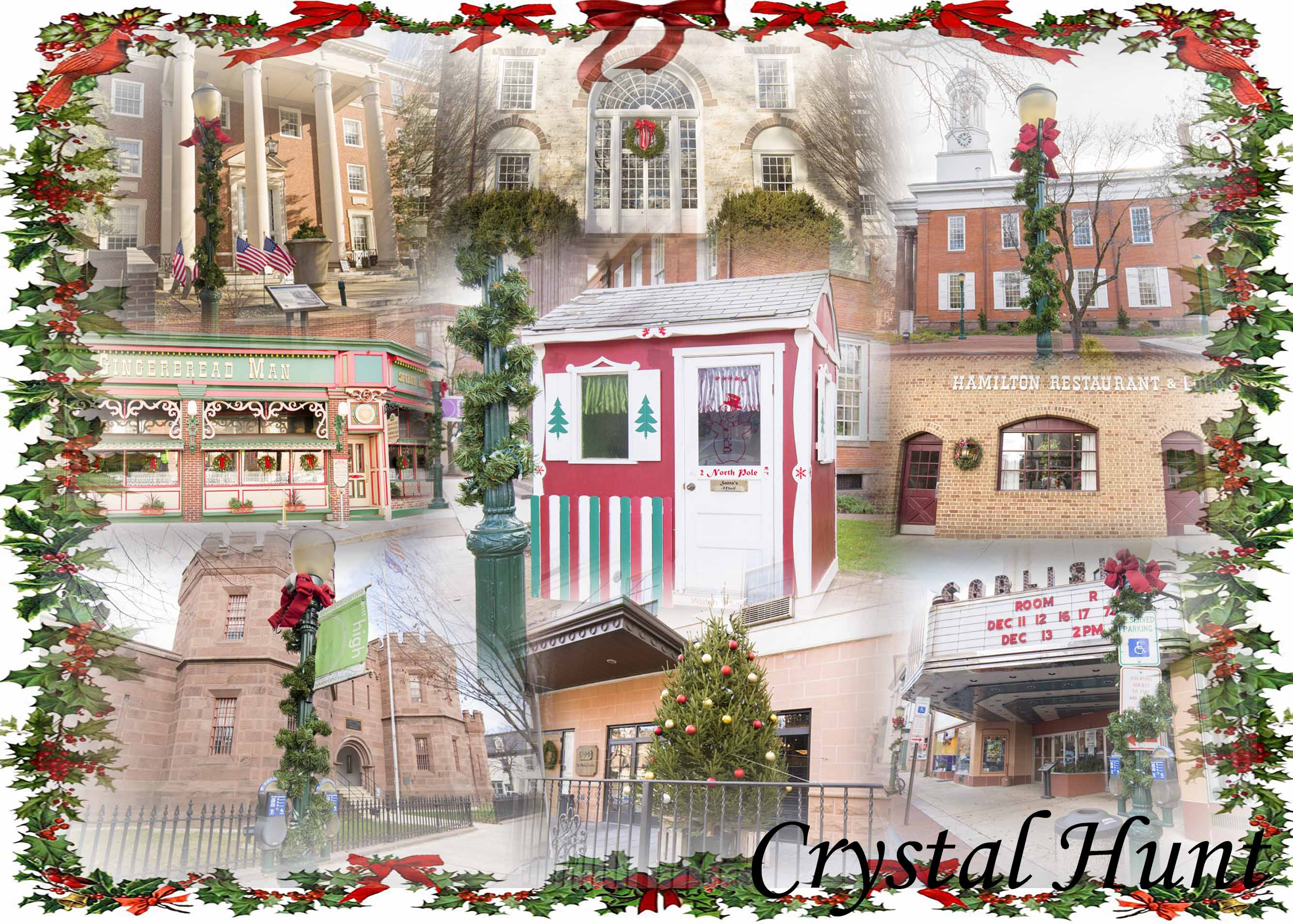 Carlisle Christmas Card Collage