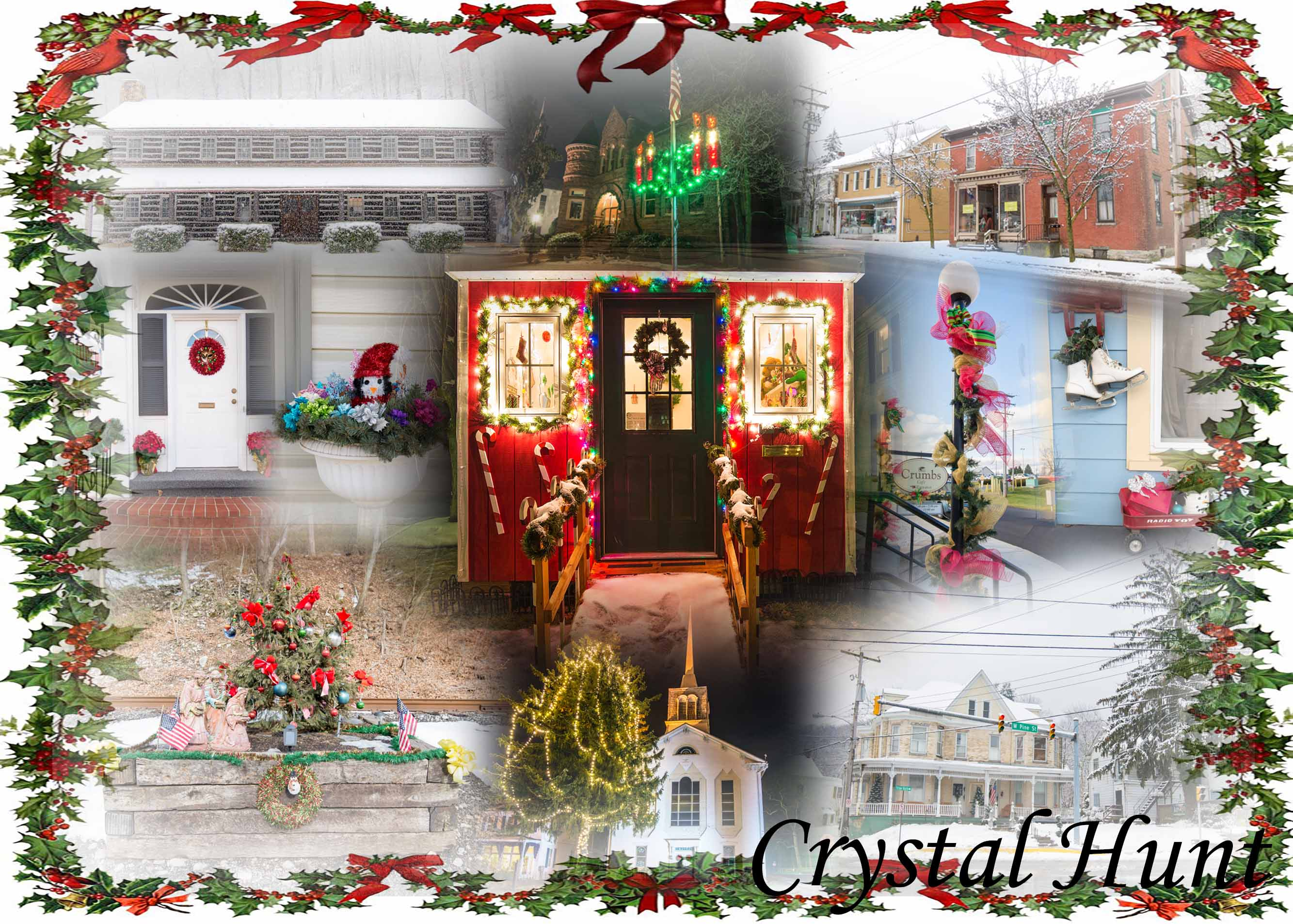 Mt. Holly Christmas Card Collage